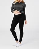 Cookie Maternity Leggings Black TKD Lingerie Cake Maternity Clothing F2