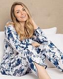 Ellie Leopard Print PJ Set White Mix TKD Lingerie Cyberjammies Fashion L1