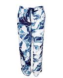 Ellie Leopard Print Pant White Mix TKD Lingerie Cyberjammies Fashion CF1