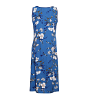 Heather Floral Print Nightdress Blue Mix TKD Lingerie Cyberjammies Nightwear Top CB1