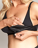 Katherine Non Wired Nursing Bra Black TKD Lingerie Panache Maternity Core F4