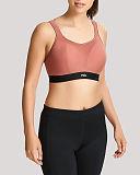 Non Wired Sports Bra Rose Black TKD Lingerie Panache Fashion F1