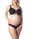 Obsession Maternity Bra And Brief Black TKD Lingerie Hotmilk Core F2