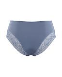 Roxie High Waist Brief Slate Blue TKD Lingerie Sculptress Fashion CB1