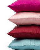 Silk Pillowcase Coral Blue Maroon Dusty Pink Fuschia F1