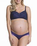 TKD Lingerie Core Maternity Tea Non Wired Bra Navy F1