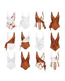 Tanami Banksia Reversible Swimsuit Bronze White TKD Lingerie Baiia CF1
