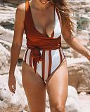 Tanami Reversible Swimsuit Bronze White TKD Lingerie Baiia L1