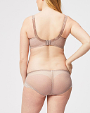 Timtams Flexi Wire Lace Nursing Bra Brief Taupe TKD Lingerie Maternity Cake Maternity B1