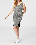 Trifle Reversible Maternity Dress Black White TKD Lingerie Cake Maternity Clothing F2