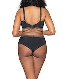 Unwind Bralette Bra And Short Black TKD Lingerie Curvy Kate Fashion B1
