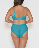 Victory Balcony Bra And Short Turquoise TKD Lingerie Curvy Kate Fashion B1