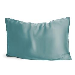 Silk Pillowcase Coral Blue