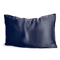 Silk Pillowcase Navy Blue