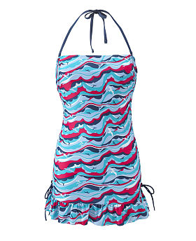 Tilly Bandeau Tankini Dress
