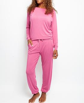 Amber Slouch Jersey Pyjama Set