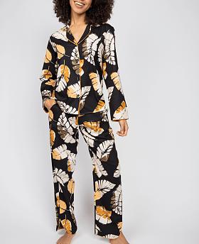 Annie Leaf Print Pyjama Set