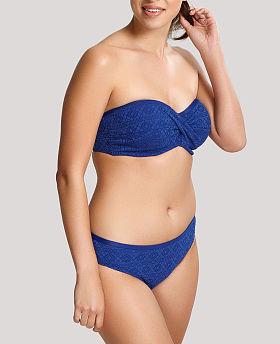 Anya Crochet Twist Bandeau Bikini