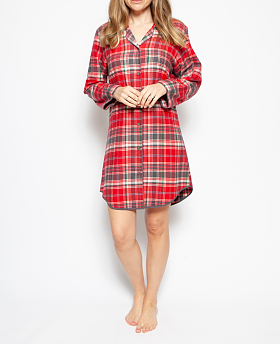 Belle Check Nightshirt