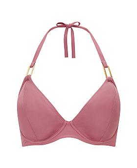 Boudoir Beach Halter Bikini Top