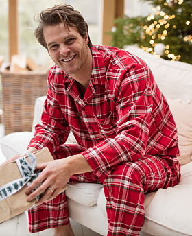 Frankie Brushed Check Pyjama Set