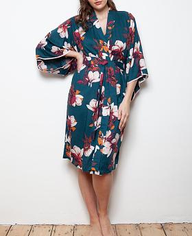 Ghent Grand Protea Cotton Lawn Kimono