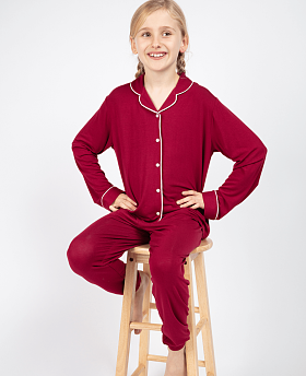 Girls Robyn Revere Jersey Pyjama Set