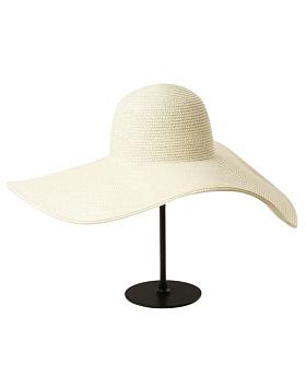 Grace Oversized Straw Sun Hat, Beige