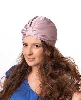 Silk Hair Turbans for Sleeping Blush