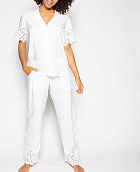 Leah Embroidered Pyjama Set