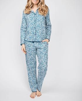 Maria Leaf Print Pyjama Set
