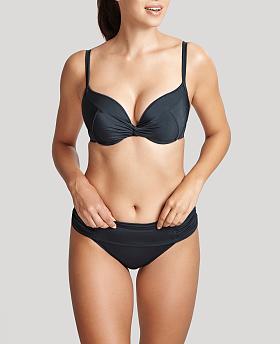 Marina Padded Twist Plunge Bikini Top