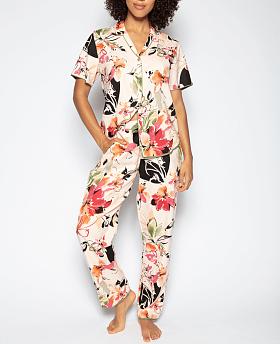Natalie Floral Print Pyjama Set