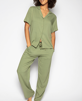 Natalie Herringbone Pyjama Set
