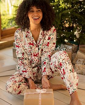 Robyn Forest Print Pyjama Set