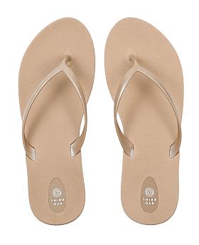 Scout Flip Flops Chai/Aged Gold