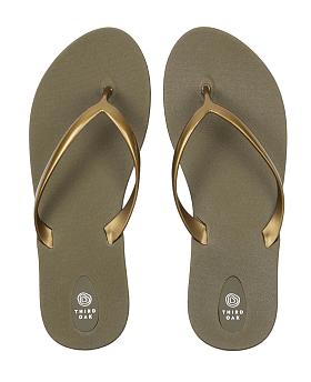 Scout Flip Flops Moss/Gold