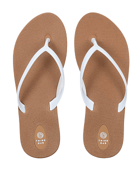 Scout Flip Flops Toffee/White