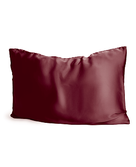 Silk Pillowcase Maroon