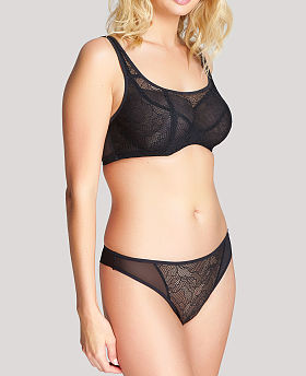 Sofia Mode Crop Top Balconnet Bra