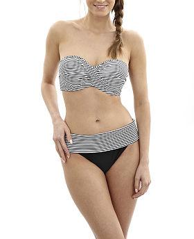 Anya Stripe Bandeau Bikini